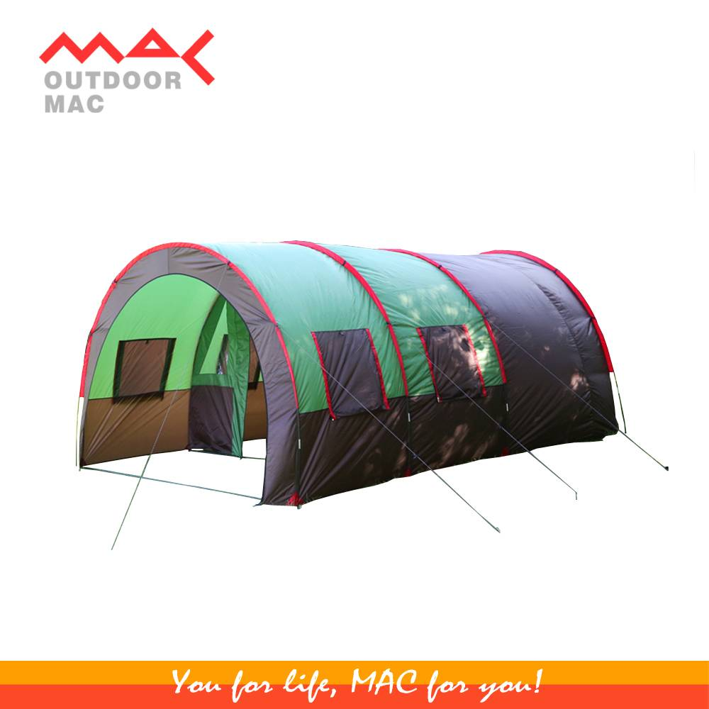 family tent luxury camping tent 6-8 person camping tent  mactent mac outdoor