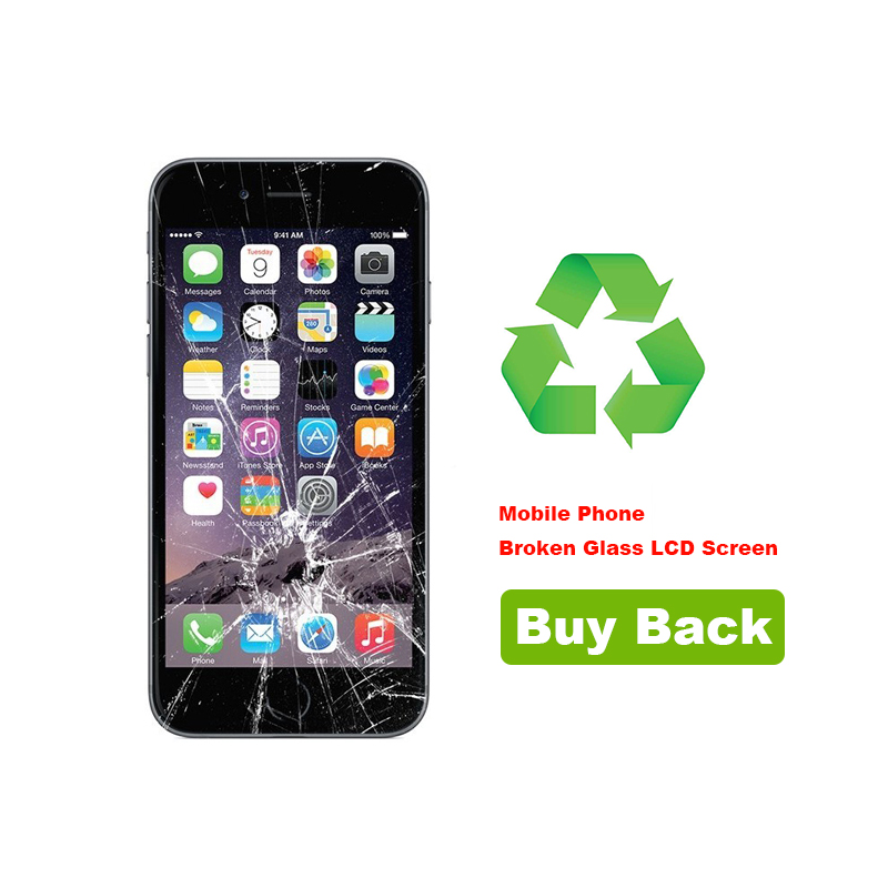 Recycling Your iPhone 6S Broken Glass LCD Screen