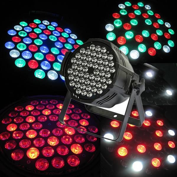 indoor 54x3w RGBW stage led par light