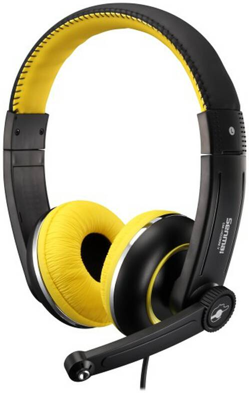 Dynamic stereo headphone/headset for computer