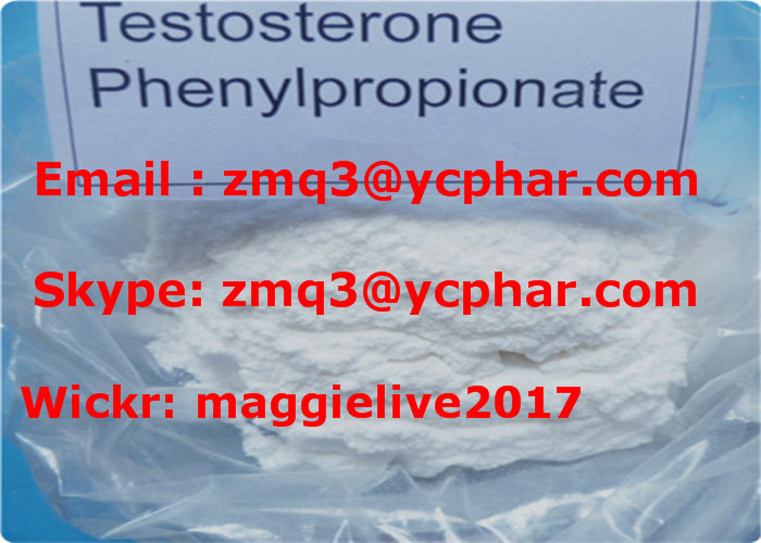 Injection Testosterone Phenylpropionate Steroid Powder Lean Muscles CAS1255-49-8
