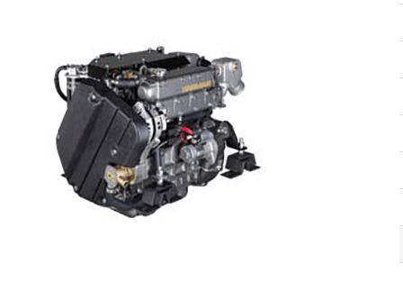New Yanmar 4JH45 45HP Marine Engine