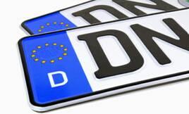 aluminium coils for License plate
