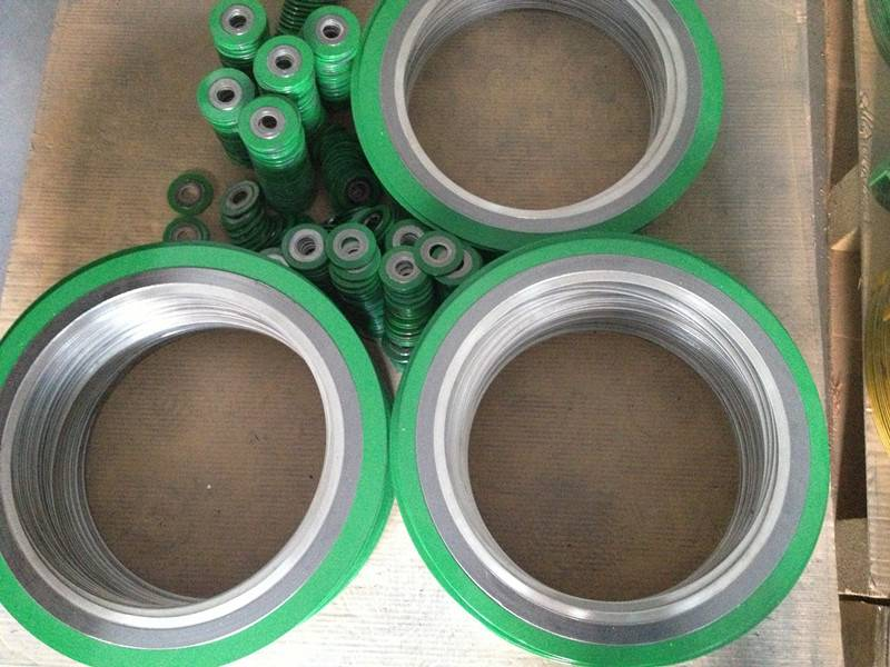 sunwell spiral wound gasket with inner and outer ring