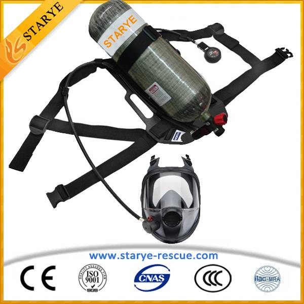 Self-Contained Emergency Rescue Fire Fighting Breathing Apparatus