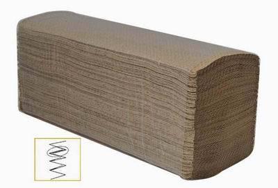 Towel paper brown multifold/Z fold/N fold