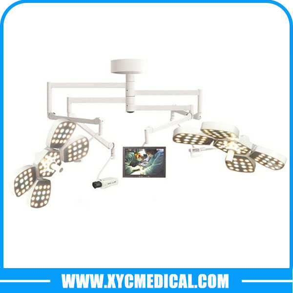 hospital operating theatre light LED5+5 ceiling operating lamp with camera