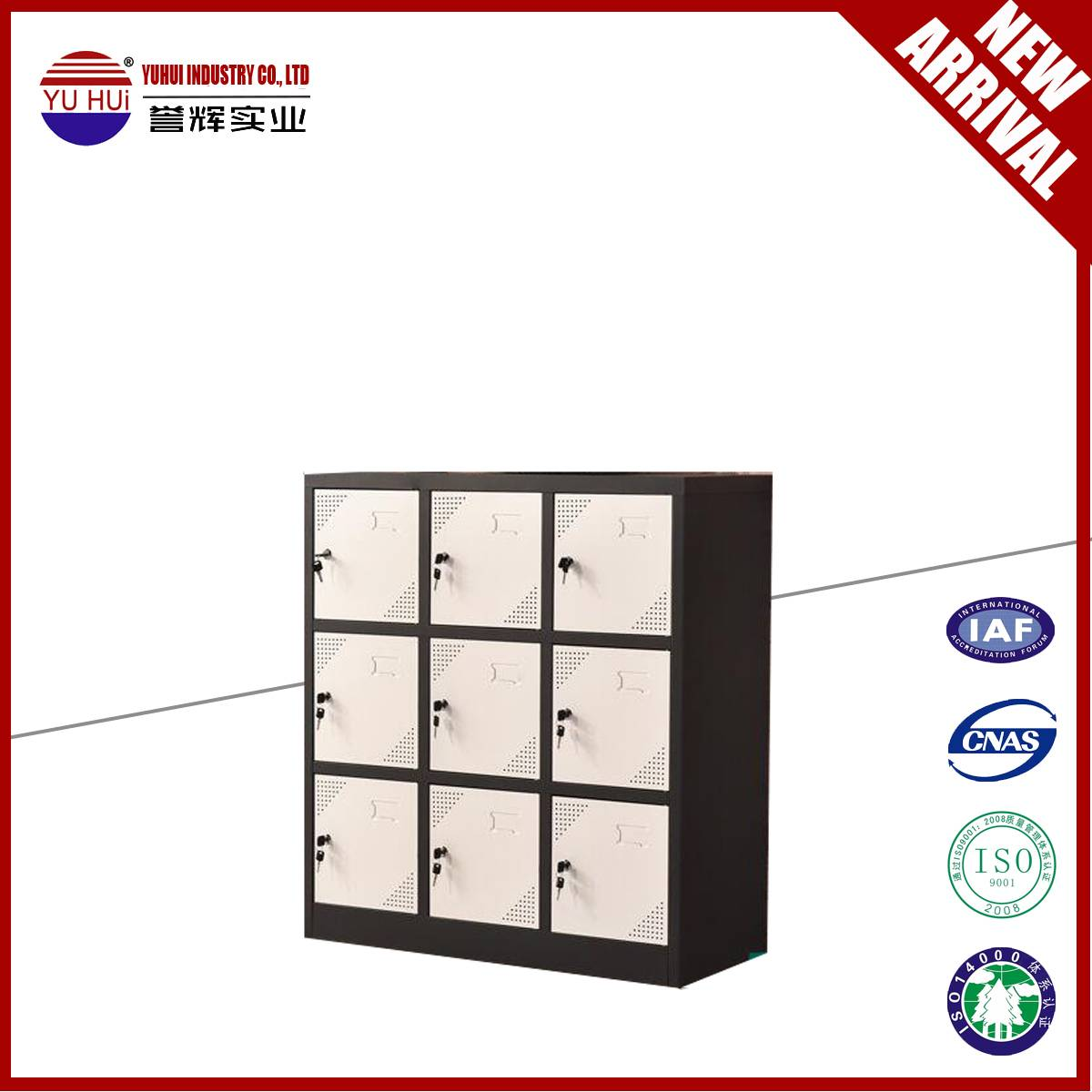 high quality small 9 door bedroom storage locker closet for sale