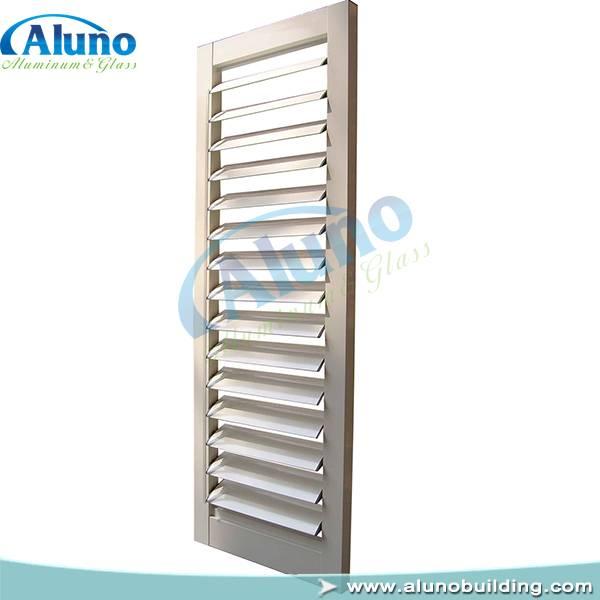 aluminum shutter window