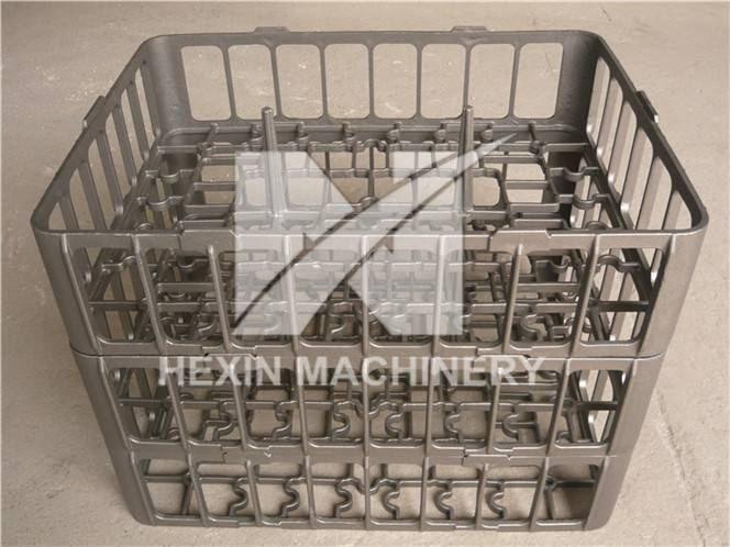 heat treatment furnace stackable baskets