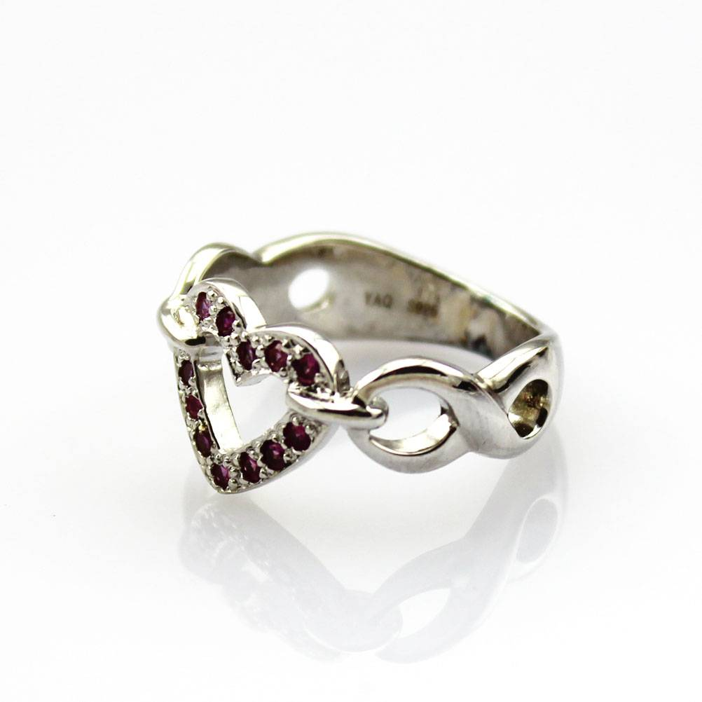 Rhinestone Ring,Sterling Silver Jewelry (FR0147)