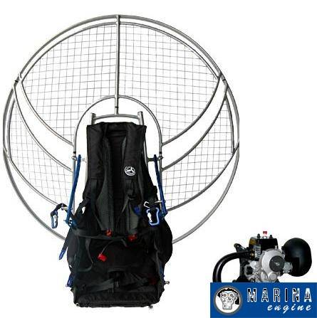 Parajet Volution 3 With Top 80 Paramotor