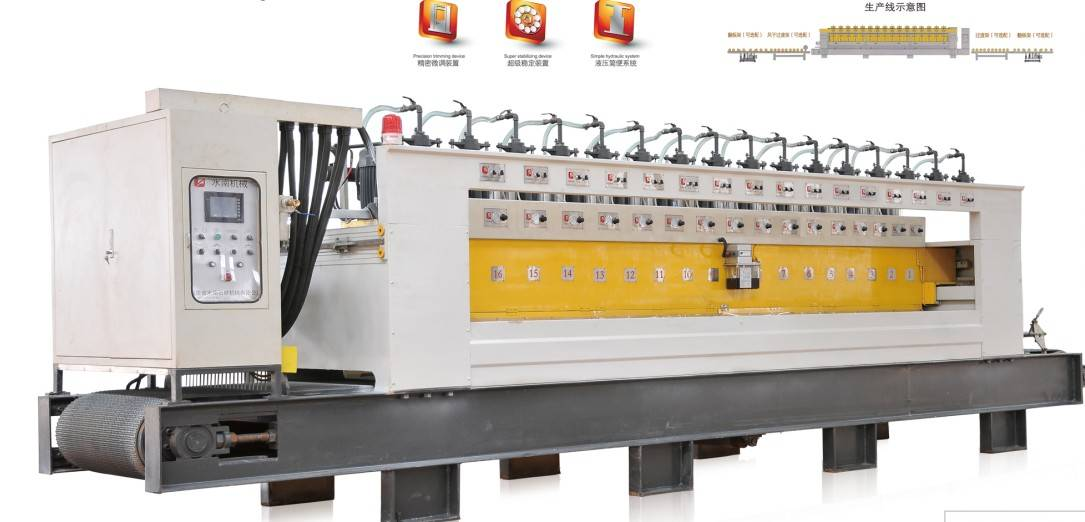 Automatical  stone polishing machine,  Stone polishing machine,   Granite polishing machine,  Marble