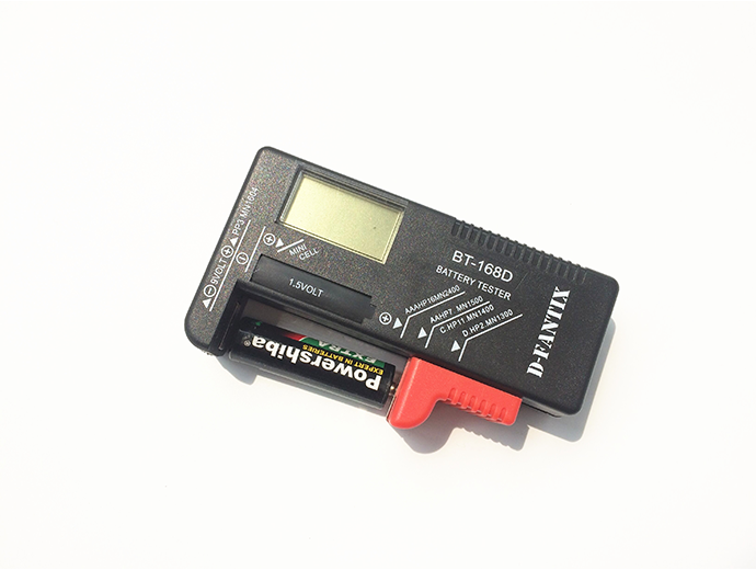 New AA/AAA/C/D/9V Universal Button Cell Battery Tester