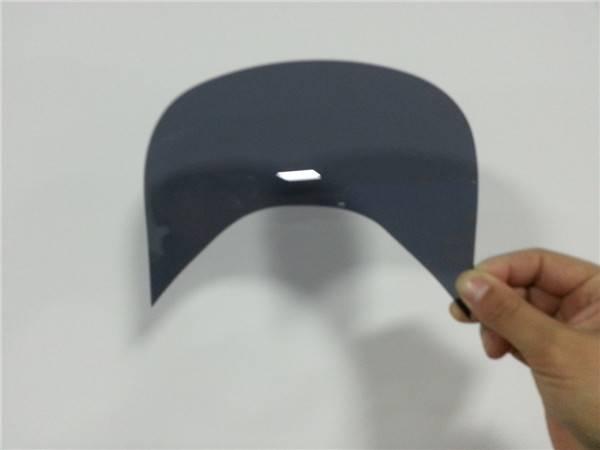 Anti-UV/ultraviolet-proof polycarbonate visor for sun hat