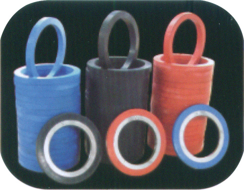 Rubberized spacers