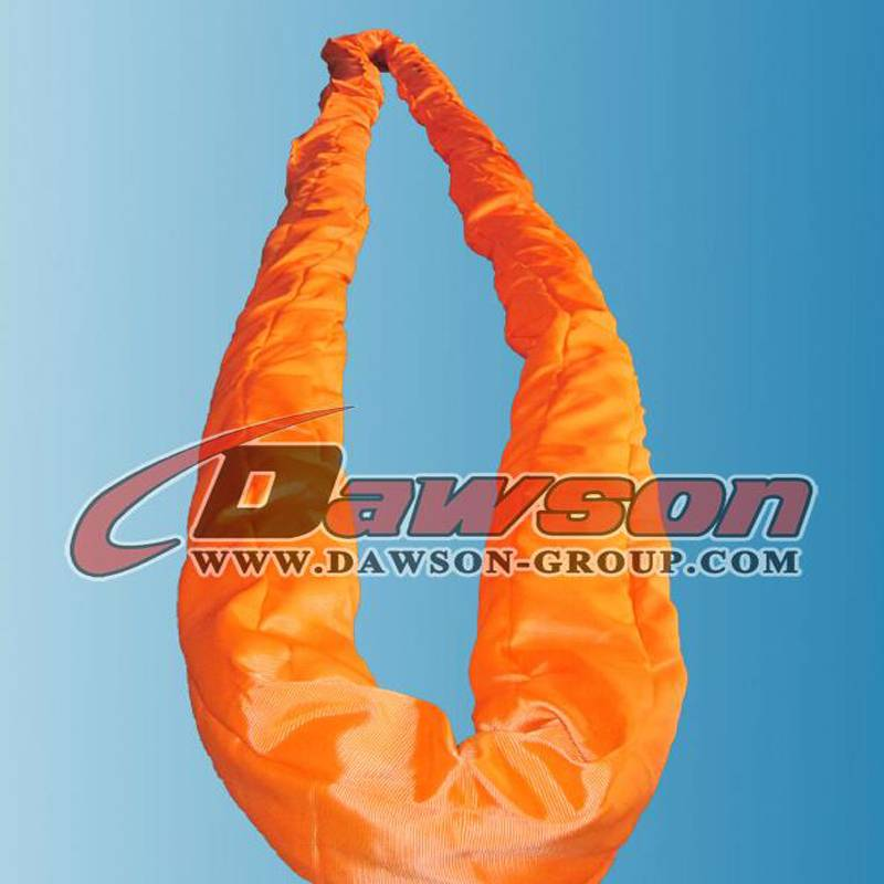 EN1492-2 150t heavy duty polyester endless round lifting sling