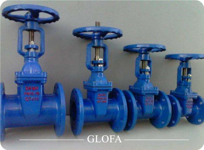 Metal Seated Brass or Bronze Ductile Iron Rising Stem Gate Valve