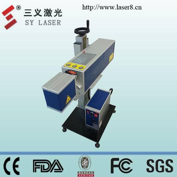 High quality portable fiber laser marking machine for plastic