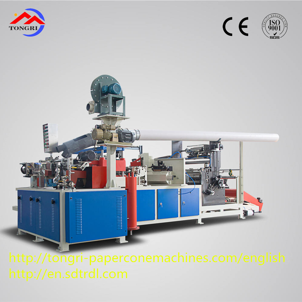 Factory price easy operation high speed reeling machine for paper cone production