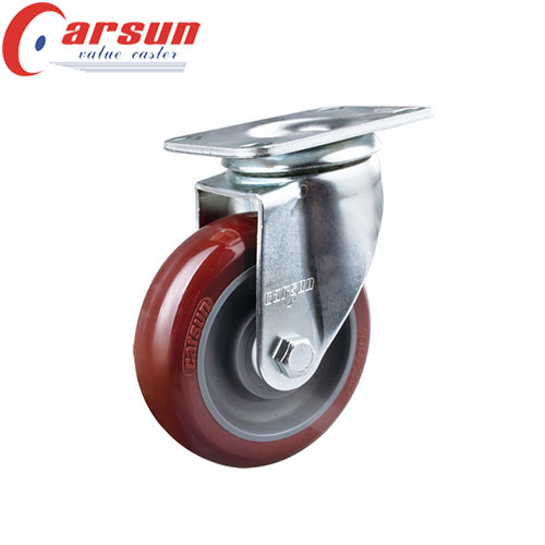 Medium Duty Swivel Caster with Polyurethane wheel