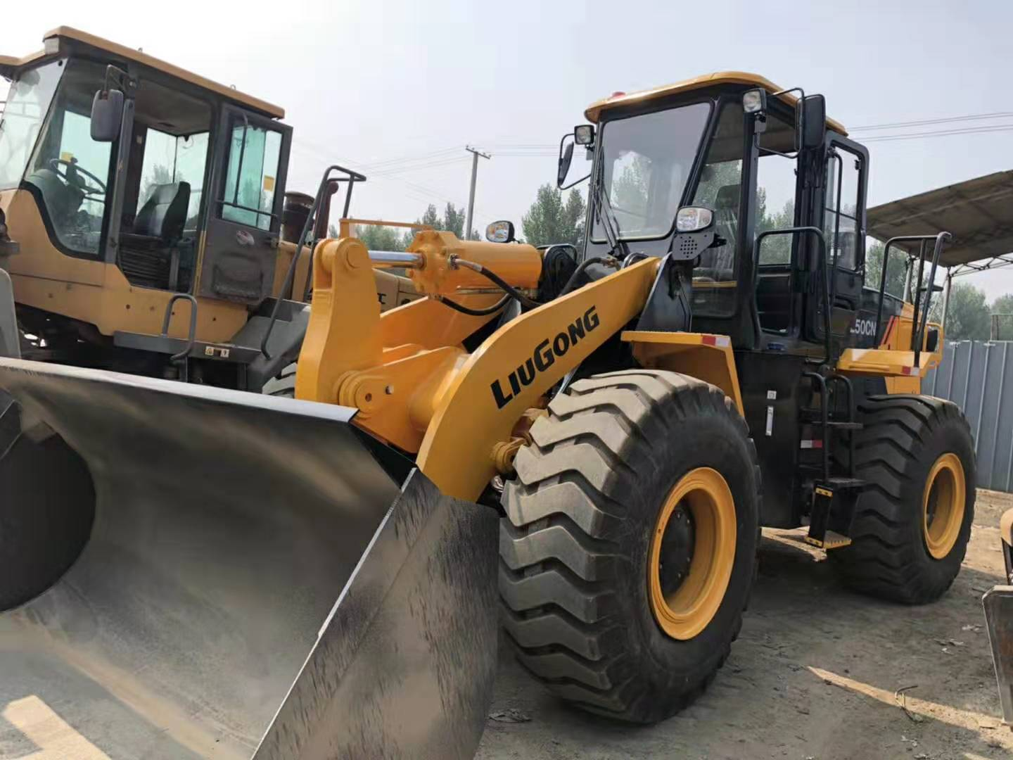 construction machines Liugong Loader ZL50CN used loader in china for sale