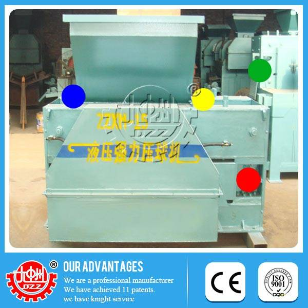 Safe and reliable High-efficiency iron powder ball press