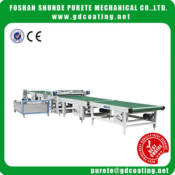 High Gloss Curatin Coating Machine For Wood, Cabinet,MDF