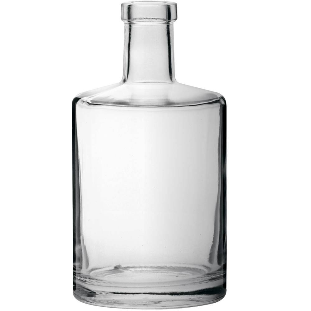 SOFIA rounded base fancy glass bottle