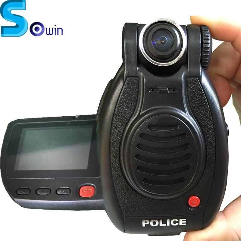 Rotatable 24hours Standby Time Auto Night Vision Motion Detection Infrared body camera