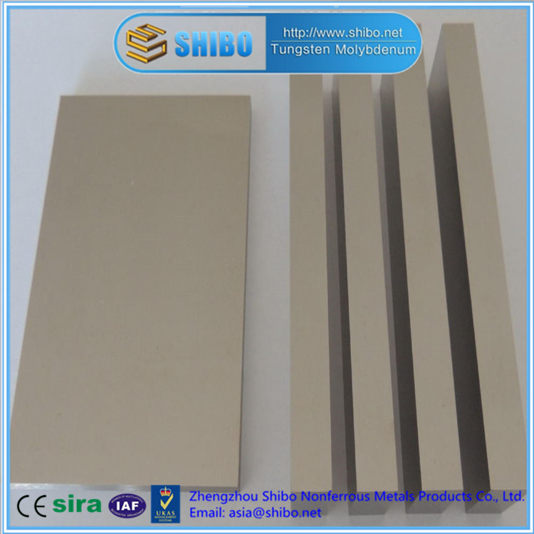 Factory Direct Sale High Purity 99.95% Moly plate