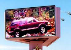 High resolution and brightness P10 LED trivision billboard with latest price