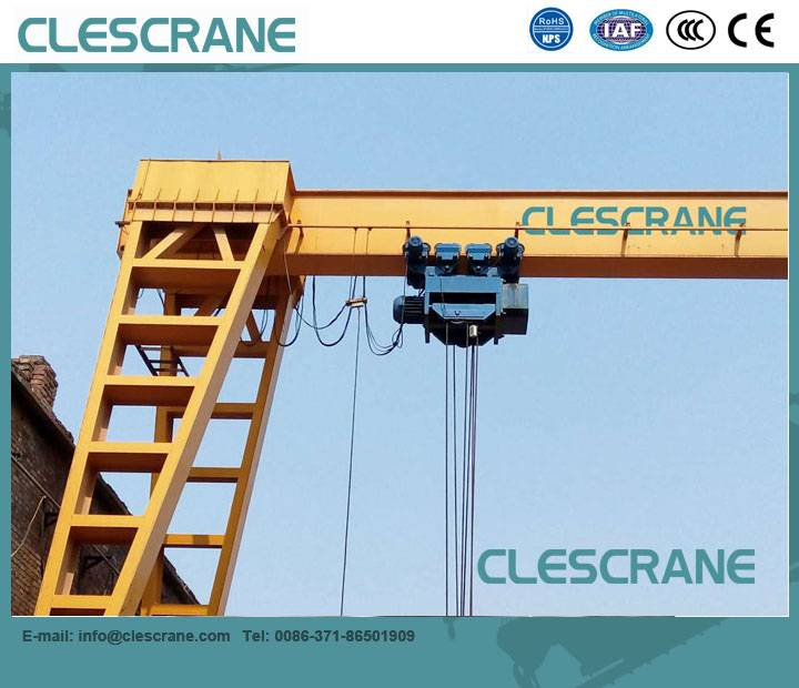 LHG Series Single-Girder Gantry Cranes