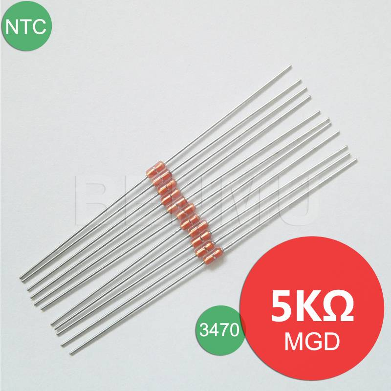 MGD18 5K 1% 3470 Diode NTC Thermistor of Variable Thermal Sensitive resistor for temperature sensors
