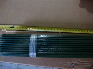 Plastic Coated Metal Bamboo Stakes