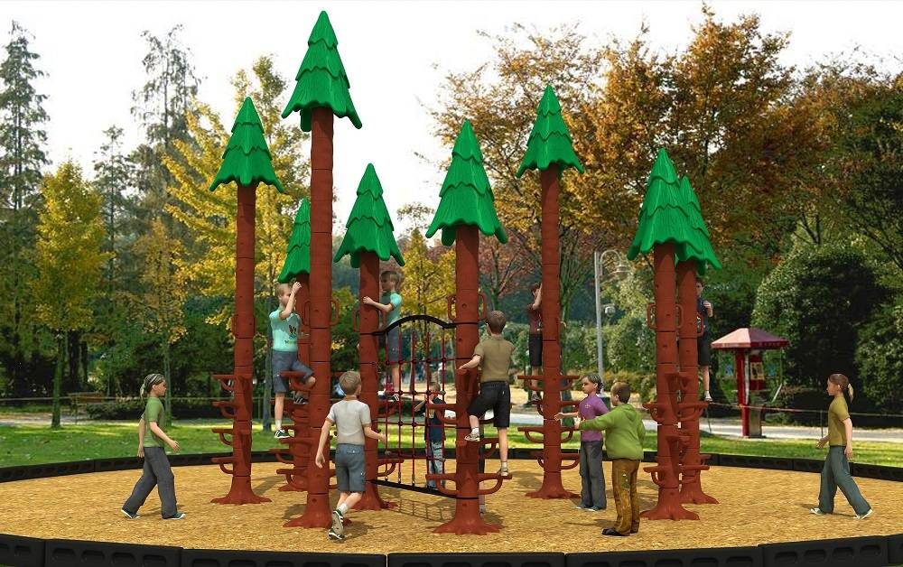 Newly Design Tree Climber Outdoor Playground Equipment Sequoia Series WD-HP104
