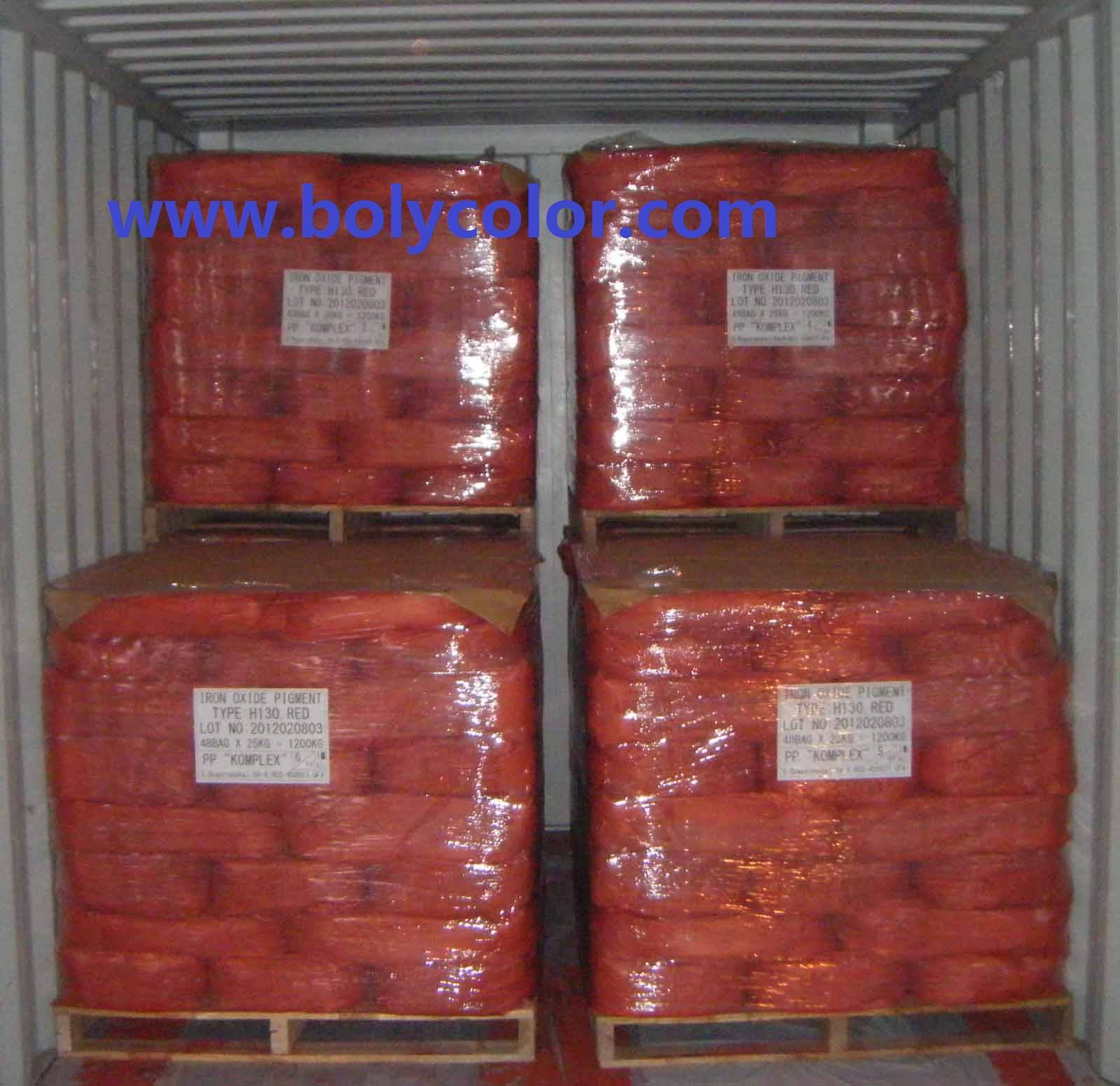 Supply Iron Oxide Red from Bolycolor