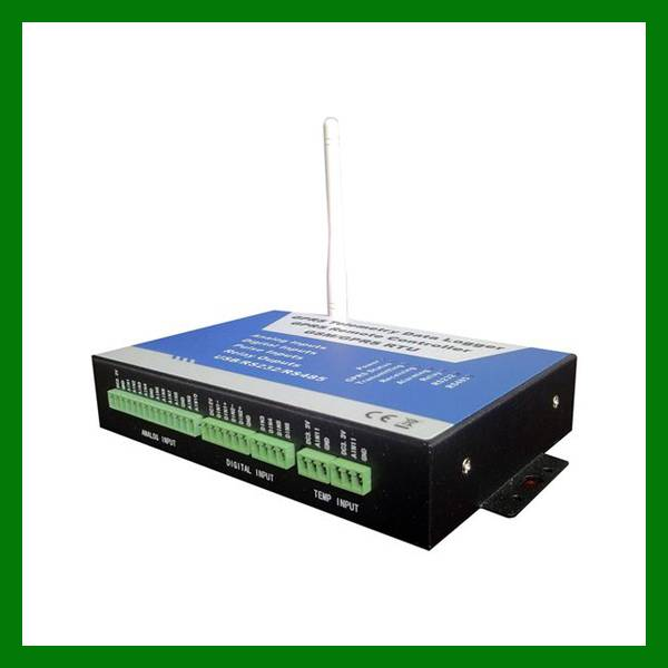 BTS Monitoring GSM RTU Controller S240 with 10 Analog inputs, 6 Digital inputs and 4 Relay