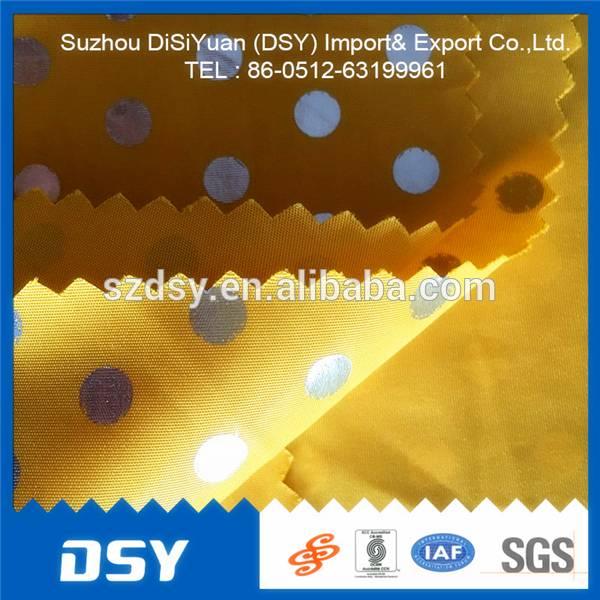 polyester nylon bright beautiful fabric/functional fabric from China jiangsu