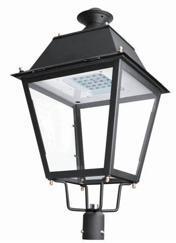 led garden light pole top light outdoor light