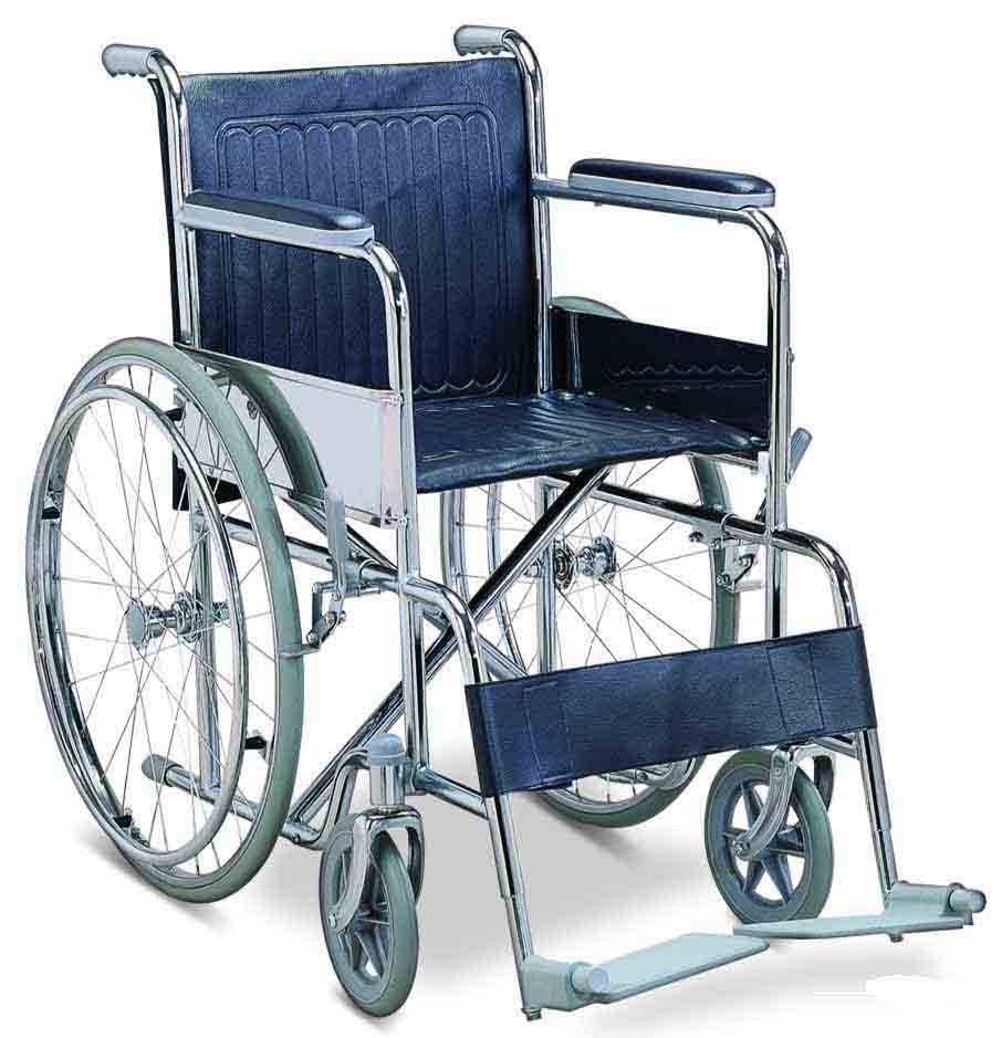 Cheap Foldable Steel Manual Wheelchair