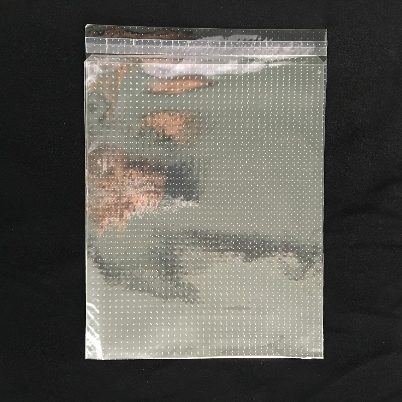 clear opp micro hole bag for fresh vegetable fruit