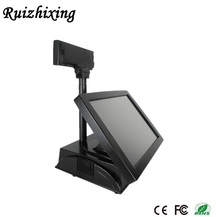 15 inch fanless pos system price/pos touch screen/pos machine price