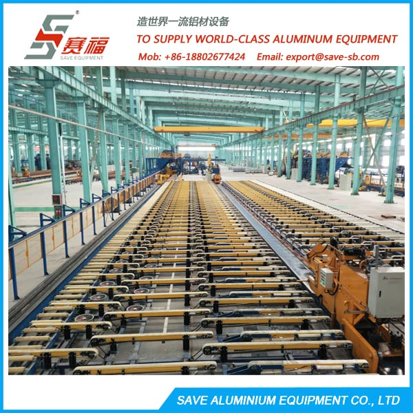 Aluminium Extrusion Profile Cooling Table