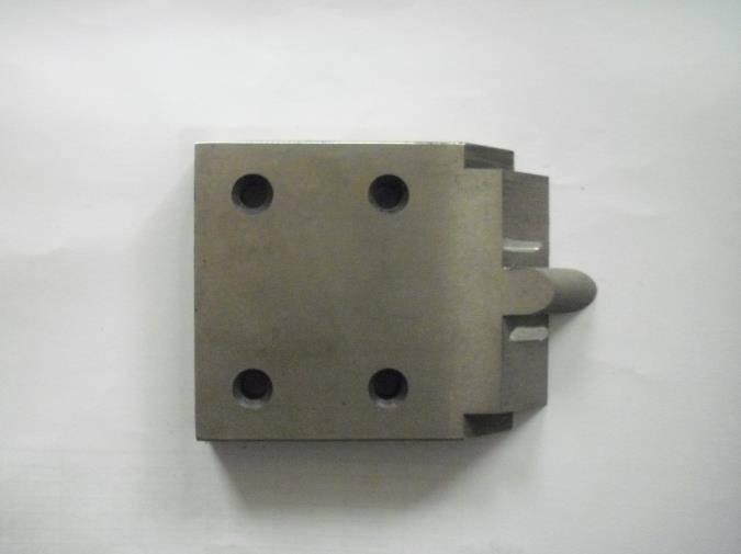 Scraper of continuous extrusion machine