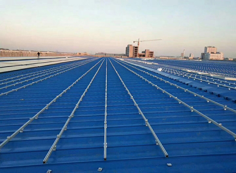Galvanized roof racking system