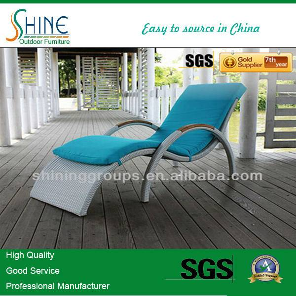 Hot Sale Pool Rattan Chaise Lounge C328