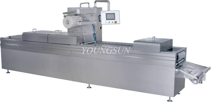 YS-LXZK-520 Full-automatic Continuous Stretch Vacuum Machine