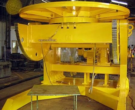 Fixed Welding Positioner with tilting and revolving functions