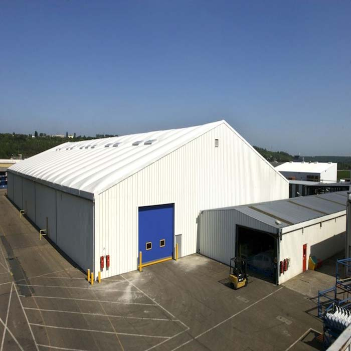 Light steel structure prefab warehouses/steel warehouse shed/storehouse